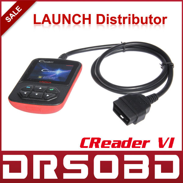 wholesales 5pcs/lot color screen LAUNCH creader VI(China (Mainland))