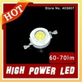 led bulbs 60-70lm 1w led high power led lamps WHITE Free shipping! Great sales