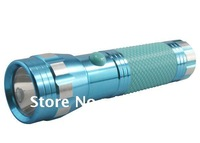 1 W torch high power aluminum led flashlight with noctilucent cover S101 free shipping