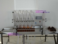 semi automatic oil filling machine with 10 heads