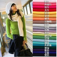 Free Shipping,Fasion Women&amp;#39;s Long Sleeve Highneck Cashmere Imitation Render Sweater,12 Color