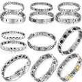 OPK JEWELRY MIXED ORDER stainless steel bracelet inlaid  magnetic bracelets erergy dynamic balance bangle free shipping