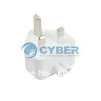 UK AC Plug Adapter For Apple For iBook For MacBook Pro Charger Power converter 250V White Free Shipping dropshipping 1261