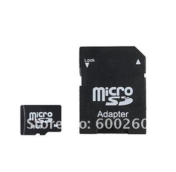 freeshipping 16GB class 6 MicroSD Micro SD HC Transflash TF CARD 16gb#8151