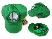 free shipping 2pcs/lot Super Mario Bro Anime  Hat Kidso cap C04 green red can choose