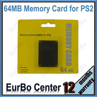 10pcs a lot 64MB Memory Card for Sony PS2