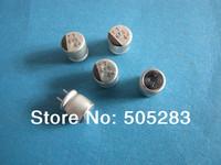 Free Shipping 100PCS SANYO 4V 680UF 8x8 Aluminum Electrolyitc Capacitor 680uf4v