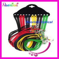 free shipping L704 sunglass eyewear braided nylon neck cord string retainer strap lanyard holder eyeglass glasses retainer 120pc