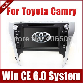 "8"" In Dash Car DVD Player GPS Navigation for Toyota Camry 2012 with Bluetooth TV Map USB AUX Auto Multimedia Audio Video Stereo"