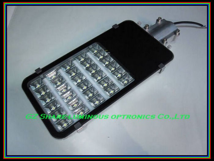 Professional!!! 36W DC12V/24V SOLAR LED Street LIGHT/LAMP HEAD For Garden/Parking Lot/Station,IP66,White,Free Shipping(China (Mainland))