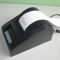 POS58 small ticket printer,ZJ5890 POS printer, bill printer---USB
