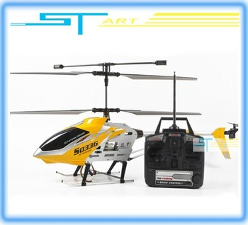 Free Shipping Biggest SYMA 67cm S033G s033 3CH RC Helicopter Radio Control metal gyro RTF ready to fly 3 channal with LED Light