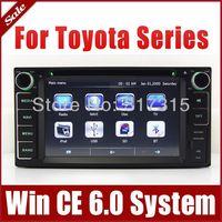 Head Unit Car DVD Player for Toyota Corolla RAV4 Vitz Celica with GPS Navigation Radio TV BT USB SD AUX Map 3G Auto Audio Stereo