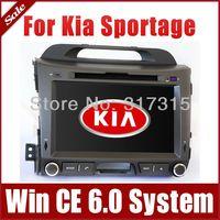 "8"" Auto Radio Car DVD Player GPS Nav for Kia Sportage 2010-2013 with Bluetooth TV FM Map SWC Map USB AUX Car Audio Video Stereo"