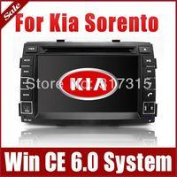 "7"" 2-Din Car Radio Car DVD Player for Kia Sorento 2010-2012 with GPS Navigation Bluetooth TV FM Map USB SD AUX Auto Stereo Audio"