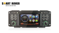 "4.3"" Car DVD GPS For JEEP GRAND CHEROKEE WRANGLER LIBERTY With Radio Bluetooth TV iPod, FREE Shipping+Map+Gifts+Camera(Hong Kong)"
