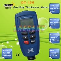 Hot selling !! DT-156 Coating Thickness Tester  Paint coating thickness gauge with free shipping