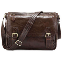 J.M.D Wholesale Price 100% Genuine Leather Shoulder Bags for Men  Best mens Messenger Bags Cross Body Bag #7022Q-2
