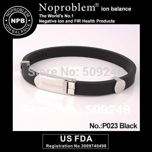 P023 NOPROBLEM color Ion Fashion power Titanium bracelet beats jewelry(Hong Kong)