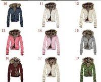 women's Jacket Fur Women Jacket 9 Color Ladies Coats Winter Coat Thicken