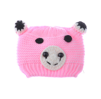 Multicolor Infant Toddler  Knitted Crochet Baby Hat owl hat Cap with ear flap Animal Style For Girl Boy Gift