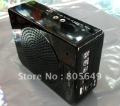 freeshipping CHOUQINC913  Portable Voice Amplifier Square portable speaker TF/usb function PK  (AKER 2800)  black 28W player