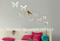 free shipping mirror stickers