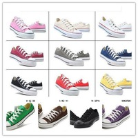 Casual Shoes Low  Men's/Women's Canvas Shoes Cheap Vulcanized Canvas Shoe