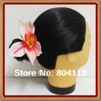 Lady Girl Beautifull Pink Orchid Hairclips Hair Flower