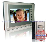 "Ultra-thin 7"" colour  video door phone / taking pictures / Novel appearance / Aluminum alloy outdoor"