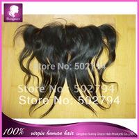 13by4 Brazilian virgin human hair lace frontal