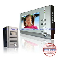 """Free shipping / The latest 7"""" COLOR  high brand taking pictures video door phone / classic design"""