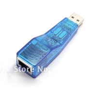 free shipping USB 2.0 Ethernet 10/100 RJ45 Network LAN Adapter Card for Vista XP Win 7 Mac #8248