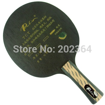 Free Shipping, Palio TCT (Ti + Carbon) Attack+Loop Table Tennis Blade for PingPong Racket