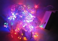 Free shipping Christmas sale 100 LED 10m 220V Colorful Christmas light string holiday light for christmas decoration