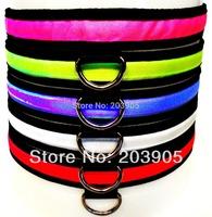 100pcs/lot*  Nylon Pet  LED Collar Flashing Pet LED Collar waterproof  Nylon Safety LED Flashing Light Up Dog Pet Collar