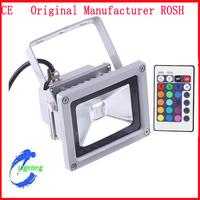 Free Shipping 10W  RGB LED Flood light Two Quality Warranty