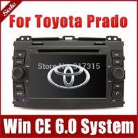 "7"" 2-Din Car DVD Player for Toyota Land Cruiser Prado 2002-2009 w/ GPS Navigation Radio Bluetooth TV USB AUX 3G Audio Stereo Nav"