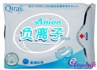 Winalite Lovemoon/Qiray Anion Sanitary napkin For Day Use, Sanitary towels. pads,10 Pcs/Package 19 Packages/Lot Free Shipping