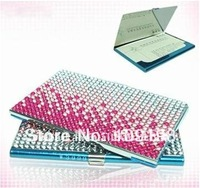 Wholesales! (35pieces/lot) Gradient color business card case