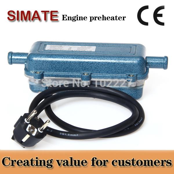 24 V voiture chauffe rapide chauffage sécurité facile à utiliser avec la tension de pompe 220 V puissance 2000 W moteur chauffe grande voitures utilisent(China (Mainland))
