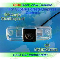 Free shipping! Subaru Forester 2008- 2010,Impreza Rear View Backup Camera+ water proof,night vision,special rear view camera