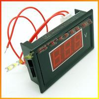 3pcs/lot Brand New Red Digital Voltmeter AC 60V to 500V LED Digital Panel Meter AC220V Voltage RED+Free shipping-10000369