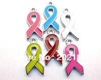50pcs Ribbon Hang Pendant Charm Fit Diy Phone Strips Wristband & Necklace HC126