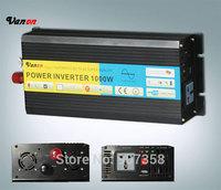 12V/100V/110V/120V 1000W /1KW Pure Sine Wave Power Inverter with CE, ROHS approved/2000W PEAK POWER inverter