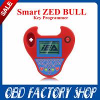 2014 red and black Smart Zed Bull with Super Mini Zed Bull Key Transponder Programmer via free shipping