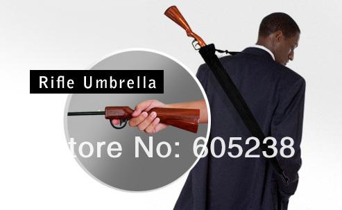 Free shipping 5 pcs Rifle Umbrella Gun Umbrella 100cm Big size(China (Mainland))
