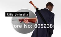 Free shipping 5 pcs Rifle Umbrella Gun Umbrella 100cm Big size