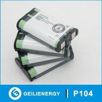 FREE Shipping Cordless Phone Battery HHR-P104  P104  3.6v for Panasonic KX-TG6500B
