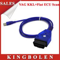 Best Selling VW COM KKL USB+Fiat  Multi-Scan Diagnostic Scanner Ecu ScanKKL+ Fiat ECU Scan 2in1